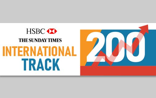 JDX Ranked in Sunday Times HSBC International Track 200 Again